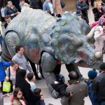 Photography credit to Joe Bailey, FiveSix Photography. Note: Triceratops not featured in show.